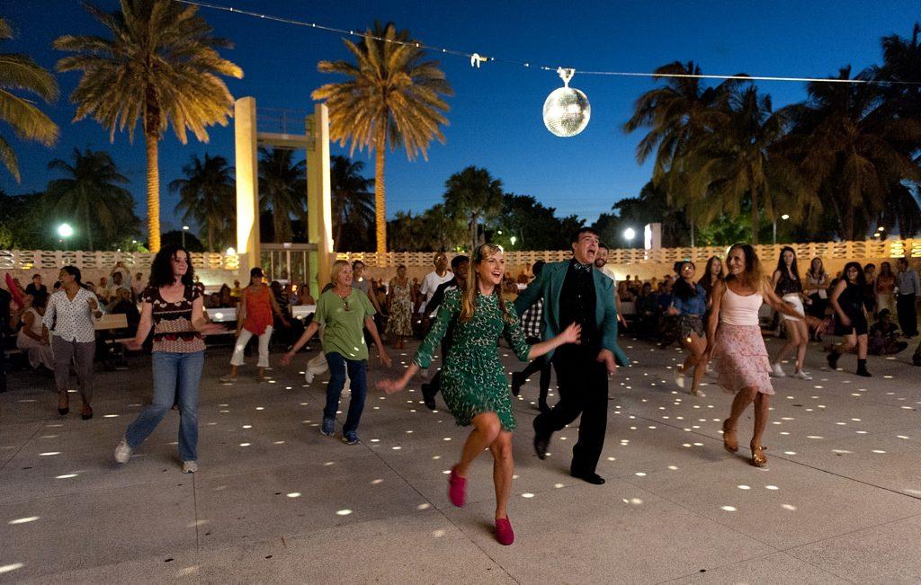 North Beach Bandshell Dance Night, Miami Beach