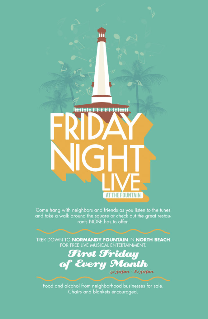 Friday Night Live at Normandy Fountain in North Beach