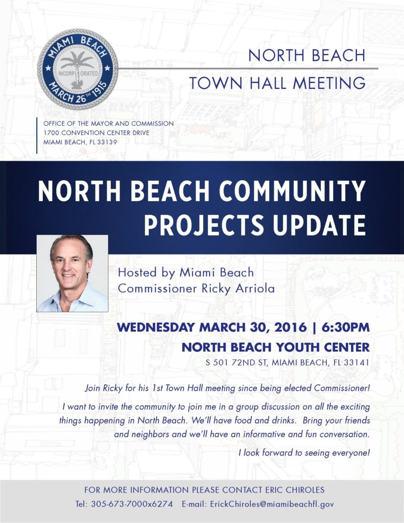 North Beach Projects Update
