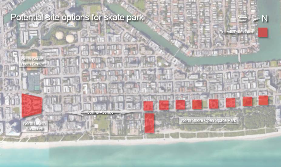 Potential site options for North Beach skate park copy